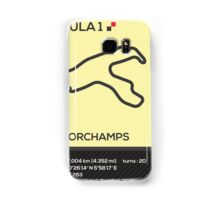 Circuit de Spa-Francorchamps Samsung Galaxy Case/Skin