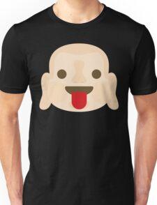 Buddha Emoji Tongue Out Unisex T-Shirt