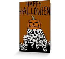 Pile of skulls Greeting Card