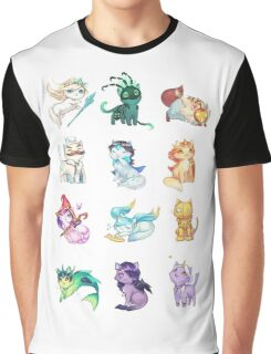 League of Support Cats ! Graphic T-Shirt