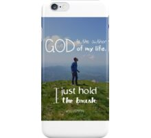 I just hold the brush iPhone Case/Skin