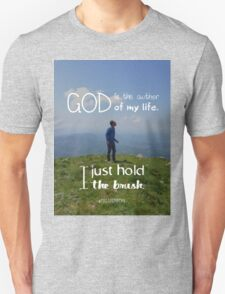 I just hold the brush Unisex T-Shirt