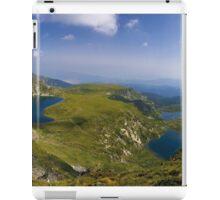 The seven lakes iPad Case/Skin