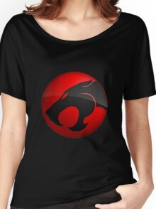 Logo black Panther Women's Relaxed Fit T-Shirt