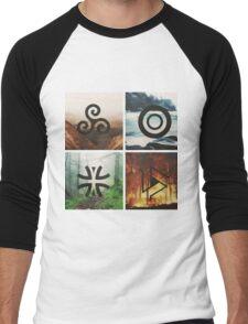 Teen Wolf symbol Men's Baseball ¾ T-Shirt