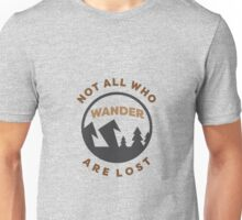 Minimal Adventure Badge Unisex T-Shirt