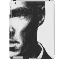 Benedict Cumberbatch - Scratch Board Portrait iPad Case/Skin