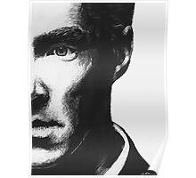 Benedict Cumberbatch - Scratch Board Portrait Poster