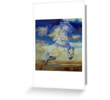 Apache Dreaming Greeting Card