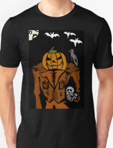 Pumpkin man Unisex T-Shirt