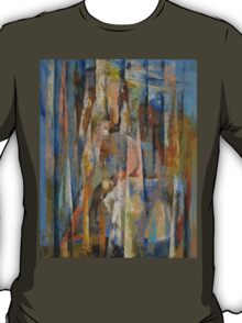 Wild Horses Abstract T-Shirt