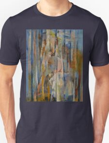 Wild Horses Abstract Unisex T-Shirt