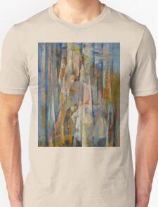 Wild Horses Abstract Unisex T-Shirt
