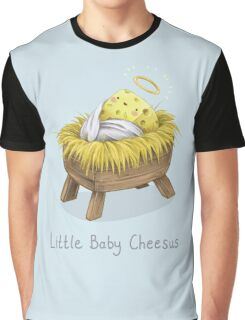 Little Baby Cheesus Graphic T-Shirt