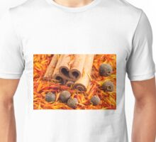 Kitchen spices and herbs close-up Unisex T-Shirt