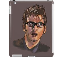 David Tennant - Sketchy Portrait 1 iPad Case/Skin
