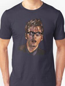 David Tennant - Sketchy Portrait 1 T-Shirt
