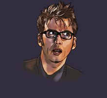 David Tennant - Sketchy Portrait 1 Unisex T-Shirt