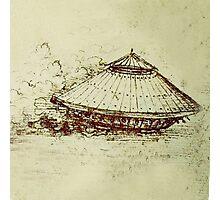Da Vinci's tank Photographic Print