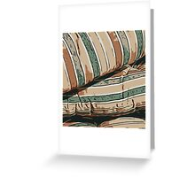 Lines pattern,abstract background Greeting Card