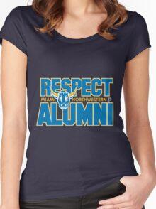 MNW Bulls Baby! Women's Fitted Scoop T-Shirt