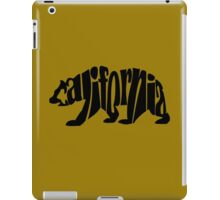 black california bear iPad Case/Skin