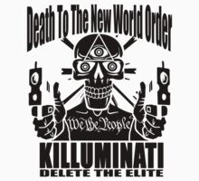 Death To The New World Order T-Shirt