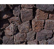 Irish Peat Photographic Print