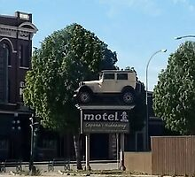Al Capone's car at the Motel where he stayed during prohibition - Moose Jaw Saskatchewan-PICTURE AND OR CARD by ✿✿ Bonita ✿✿ ђєℓℓσ