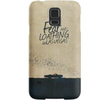 Fear and Loathing in Las Vegas minimalist movie poster Samsung Galaxy Case/Skin
