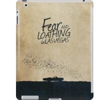 Fear and Loathing in Las Vegas minimalist movie poster iPad Case/Skin