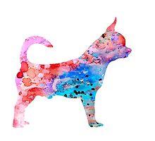 Chihuahua 2 by Watercolorsart