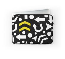 Right direction - yellow Laptop Sleeve
