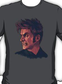 David Tennant - Sketchy Portrait 3 T-Shirt