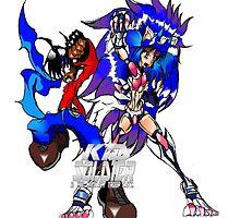 Kid Soldier & Beast Soldress by TakeshiMedia