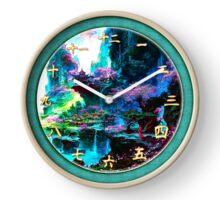 036 Wall Clock Japanese landscape Clock