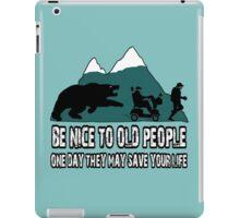 Funny old people iPad Case/Skin