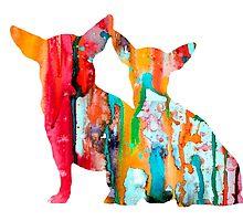 Chihuahua 4 by Watercolorsart