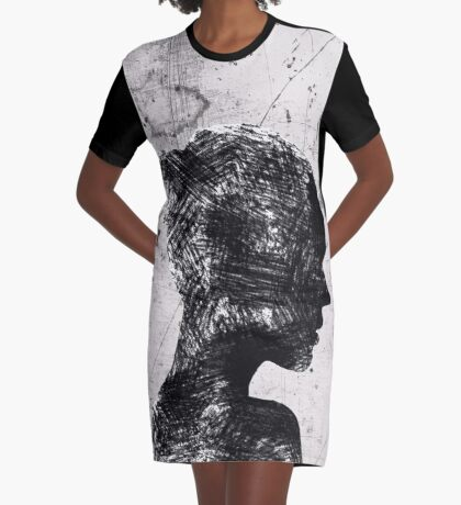 MIND BLOWING GIRL  Graphic T-Shirt Dress