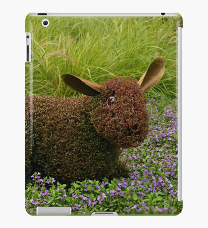 "He's just a little ""hare-y"" iPad Case/Skin"