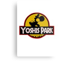YOSHIS PARK Metal Print