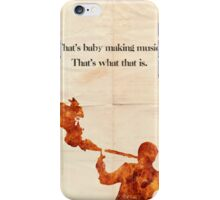 Anchorman poster iPhone Case/Skin