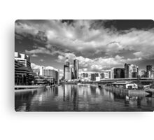 Melbourne from the Docklands Canvas Print