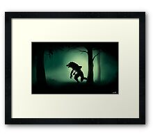 Midnight Stalk Framed Print
