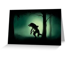 Midnight Stalk Greeting Card