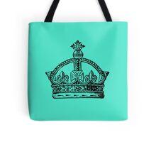 Crown - Teal Tote Bag