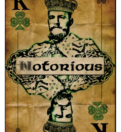 Notorious McGregor - King Card Sticker