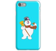 frosty christmas iPhone Case/Skin