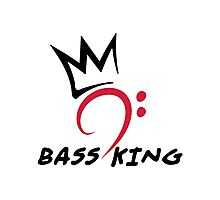Bass King Photographic Print
