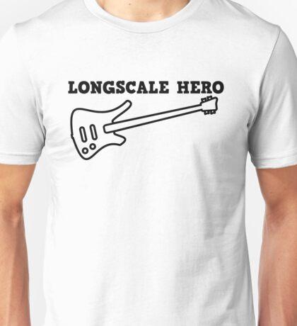 Longscale Bass Hero Unisex T-Shirt